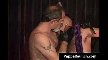 Nasty kinky gay gets bondage and gets...