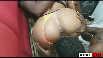 Danny Hot's Naughty Girl Invites Two Super Black Nudes to Fuck Her Pussy Firm