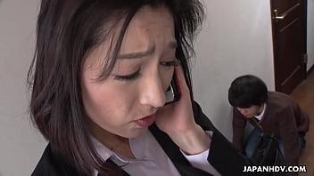 Japanese woman, Marina Matsumoto is moaning, uncensored 5 min