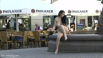 Naked bosnian chicks - Hot chick tina shows her boobs on public streets