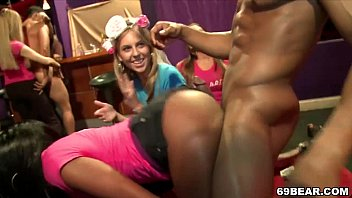 Stripper fucks girl party - Crazy bachelorette party with horny girls