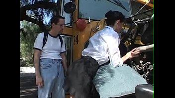 Schoolbusdriver Girl get fuck for repair the bus - BJ-Fuck-Anal-Facial-Cumshot