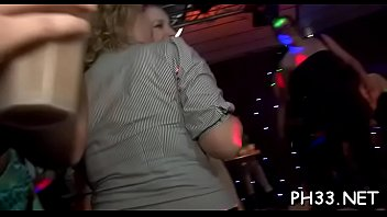Yong gals in club are cheerful to fuck