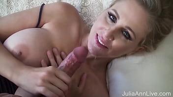 Cum, Jizz And Milk! MILF Julia Ann's Nut Busting Cumshot Compilation!