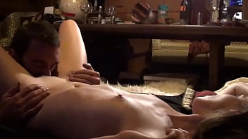 TINY BRUNETTE DARLING GETS RAMMED BY HER HUNKY FELLOW