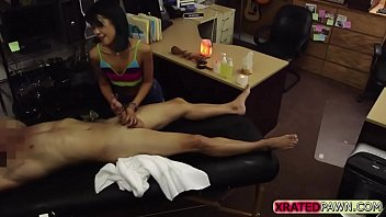 Hardcore sex with a hottie petite asian in the shop