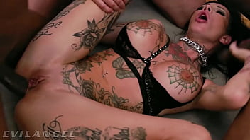 EvilAngel - Filthy Megan Inky DAP'd In Extreme Foursome