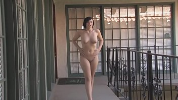 Edie adams nude Sexy-brunette-risky-public-nude-caught-interview