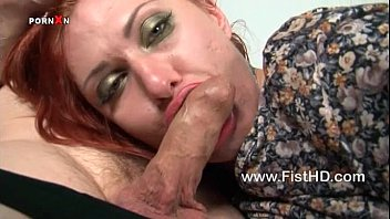 Busty Tallulah Tease gets her pussy fucked and fisted
