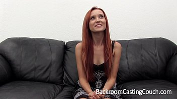 Incredible Redhead First Ass Fuck & Anal Creampie Casting 12 min