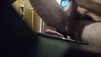 6.1 inch IN and 6.7 inch UP with cumshot