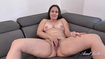 AuntJudys - Busty Full Bush 43yr-old Big Booty MILF Brandii (JOI)