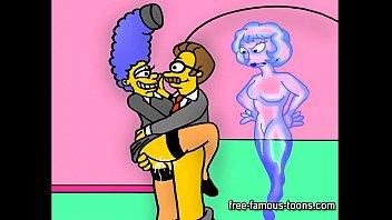 Simpsons porn parody image
