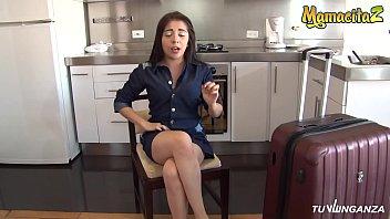 MAMACITAZ - #Nicole Medallo - Fiery Hot Latina Takes Big Cock On A Dirty Sex Tape