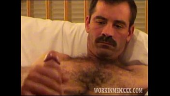 Gay jacking man - Mature man mike jerks off