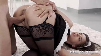 PRIVATE - Sweet Maid Alina Henessy Gets Anal Pounded By Her Big Dick Boss!