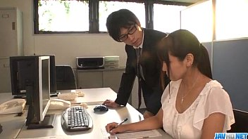 Yu Shinohara nasty porn play at the office 12 min