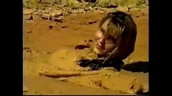 Sexy girl in mud - Wam total leather girl in mud.mov