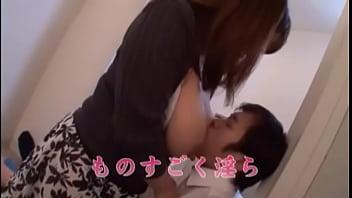 Yu Ogawa has Huge Tits filled with Milk 71 sec