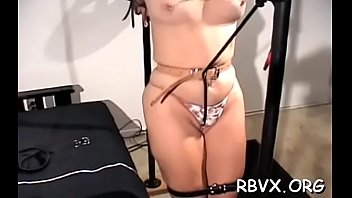 Degrading sex video - Wicked bitches get degraded in a real coarse bondage session