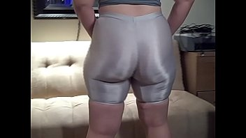 Sexy tight white short Phat ass in white spandex shorts big booty pawg