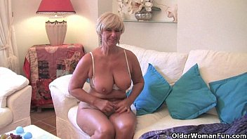 Chubby Grandma  With Big Old Tits Fucks A Vibr ts Fucks A Vibrator