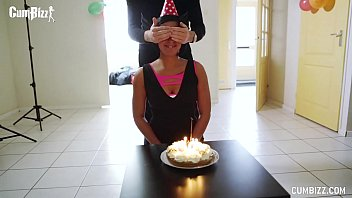 Dutch Bday girl gets 7 Jizzloads Cum Suprise Party thumbnail