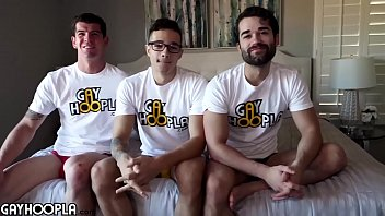 3Way Action Between The Hottest Gay Guys On Xvideos