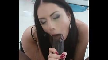 Rebecca Volpetti blowjob