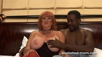 Amateur Mom Big Boob redhead milf fucking black cock Mature Big Tits Video 5 min