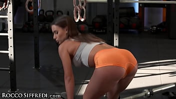 Roccosiffredi Tight Petite Gets Her Ass Filled Up Hard By Her Trainer