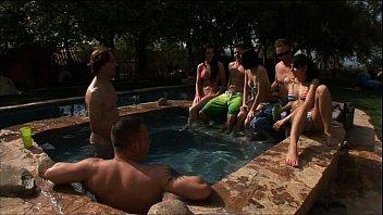 PornPros Pool Party Orgy