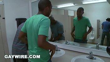 GAYWIRE - Urban Invasion Public Gay Sex in Bathroom (zc9092)