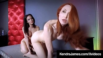 FemBots Angela Sommers & Kendra James Cum While Scissoring!