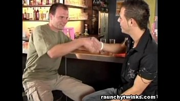 Horny Men Hookup In A Gay Bar And Fucked The Night Away