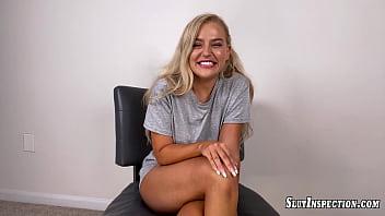 Slut Inspection Big Tit Blonde Blake Blossom