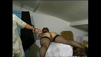 Crazy doctor loves to feel pussy and ass thumbnail