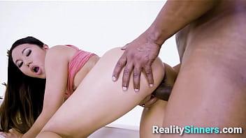 Asian Tiny Sis Cant Handle a Black Dick - RealitySinners.com 8 min