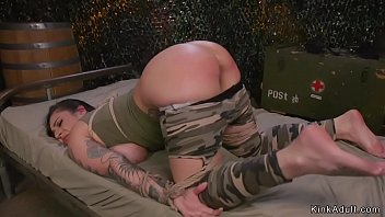 Soldier lesbians anal fucking and fisting