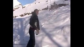 SHAINA BEURETTE FRENCH ARAB SKINNY TEEN FUCKOUTDOOR IN MOUNTAINS DURING SKI 18 min