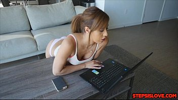 Great Ass Teen Demi Lopez Grinds Stepbro Doggystyle And Make Him Bust A Nut