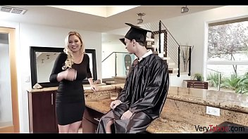 Mom Gives Son A Graduation Present- Kenzia Taylor