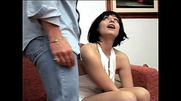 Naked brunette hot italian chick - Hot italian brunette groped and fucked in a sofa