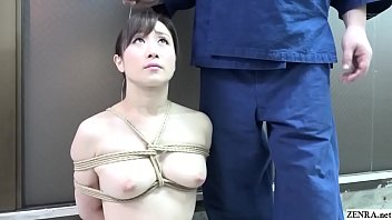 BDSM JAV Yuu Ka wakami CMNF Nose Hook Blowjob e Hook Blowjob