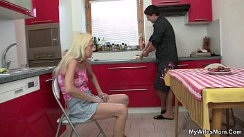Cock Hungry Granny Seduces Her Daughter's Bf