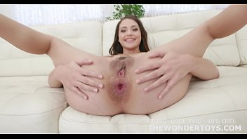Size quenz dildo - Avi love anal sex testing the impaler size s and m for the wonder toys