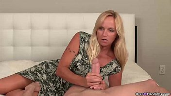 ov40-Big titted step-mom handjob