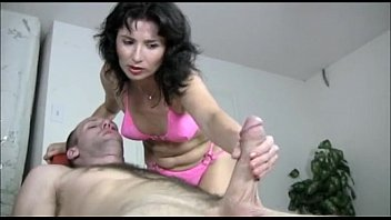 Tatiana xxx catogories gagged cumshot - Naughty milf gives a handjob massage