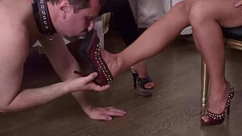 Glamour GIrls order shoe slave! 72秒