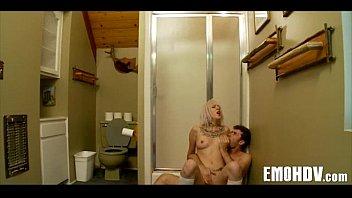 Emo whore takes cock 246